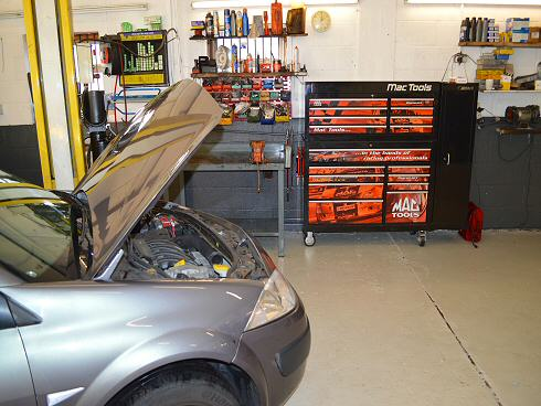 All Servicing and repairs are undertaken on the premises